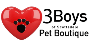 Three Boys of Scottsdale Pet Boutique Logo