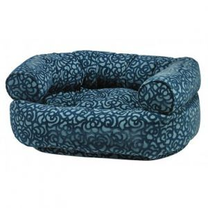 Capri double donut dog bed