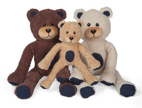 Fab Dog Floppy Teddy Bear Dog Toys.