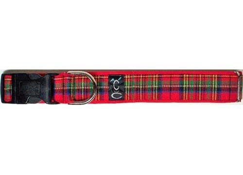 Cutie-Collar-Royal Tartan Plaid Dog Collar
