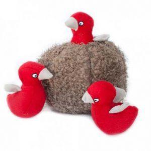 zippypaws-bird-nest-burrow-dog-toy