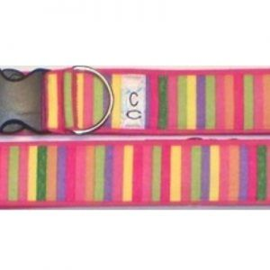 cotton_candy fabric dog collar Cutie Collars