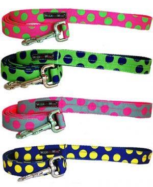 walk-e-woo-neon-dots-collection-dog-leashes-leads