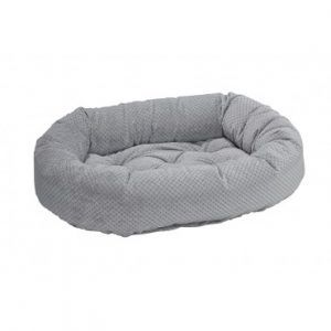 nickel-weave-donut dog bed