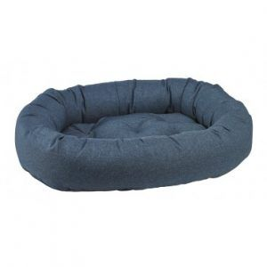 ocean-donut dog bed