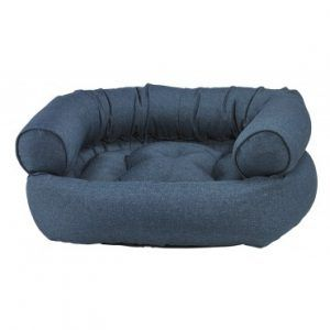 ocean double donut dog bed