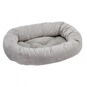 silver-treats donut dog bed