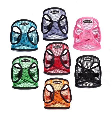 Bark Appeal step-in netted ez wrap dog harness summer harness