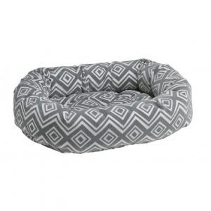Bowsers Donut Dog Bed- studio-microvelvet