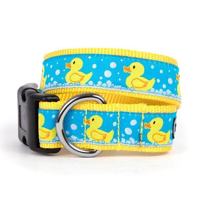 Worthy Day Rubber Ducks Dog Collar