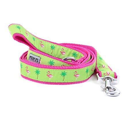 flamingo leash by worthy dog
