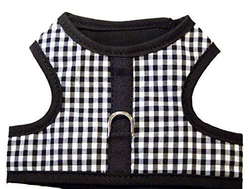 Hook and loop vest dog harness