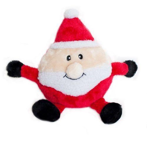 Zippy-Paws-Holiday-Brainey-Santa-Dog-Toy