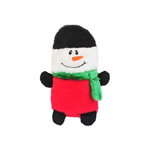 Zippy-Paws-Holiday-Colossal-Buddies-Snowman-Dog-Toy